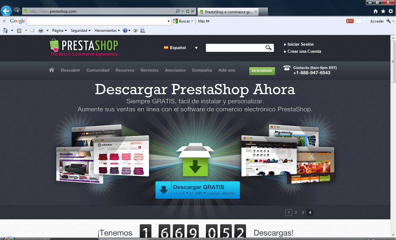 Página de Wamp Server