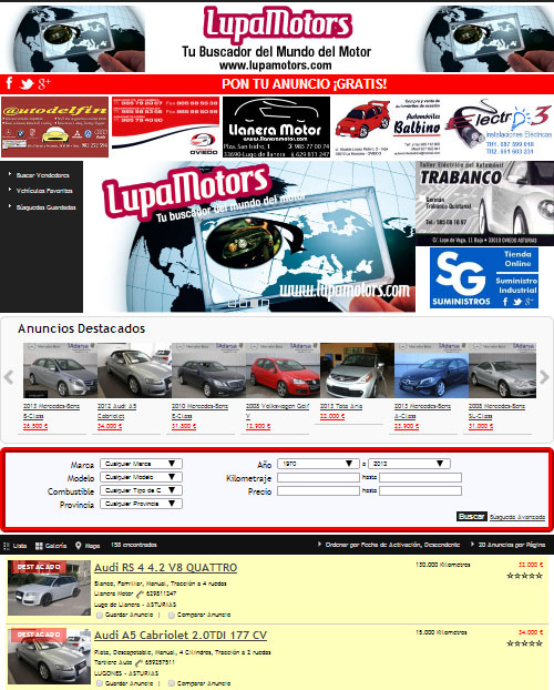 Web LupaMotors